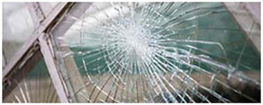 Romsey Smashed Glass